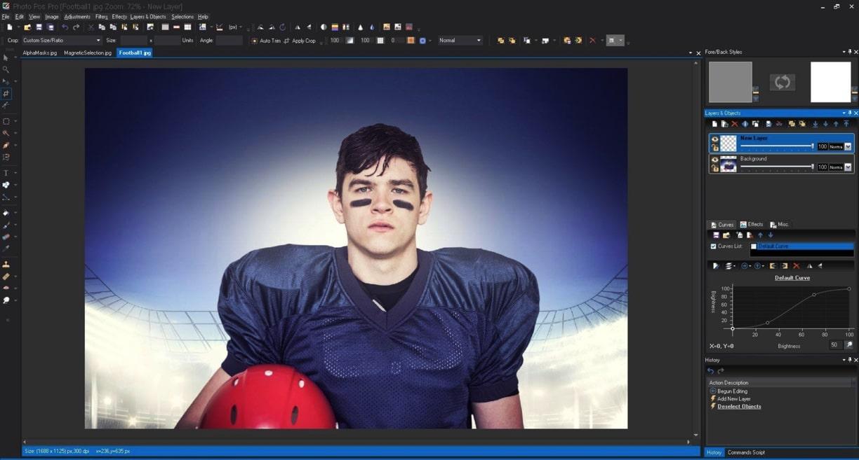 Photo Pos Pro photo editing software