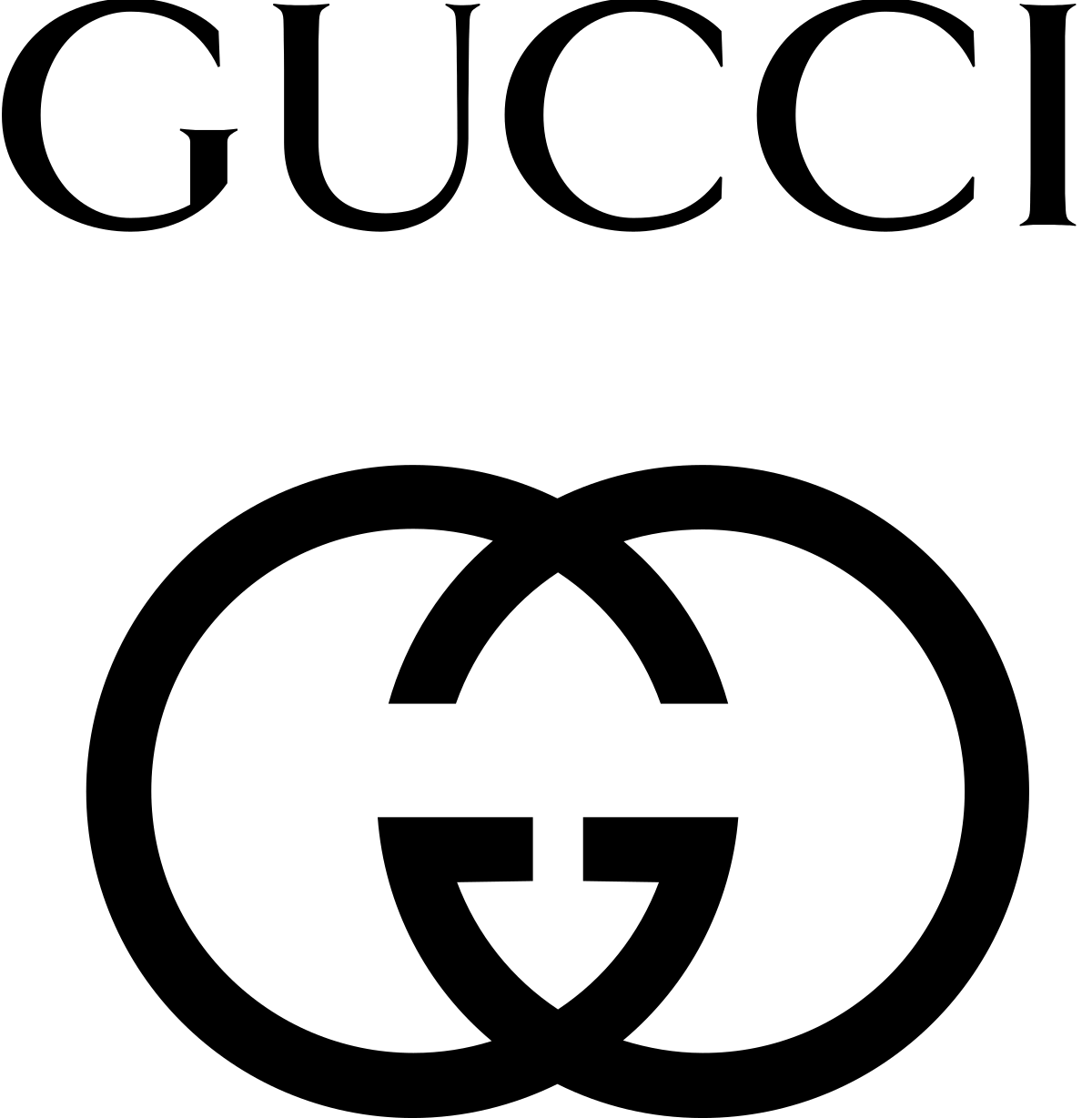 Gucci monogram logo