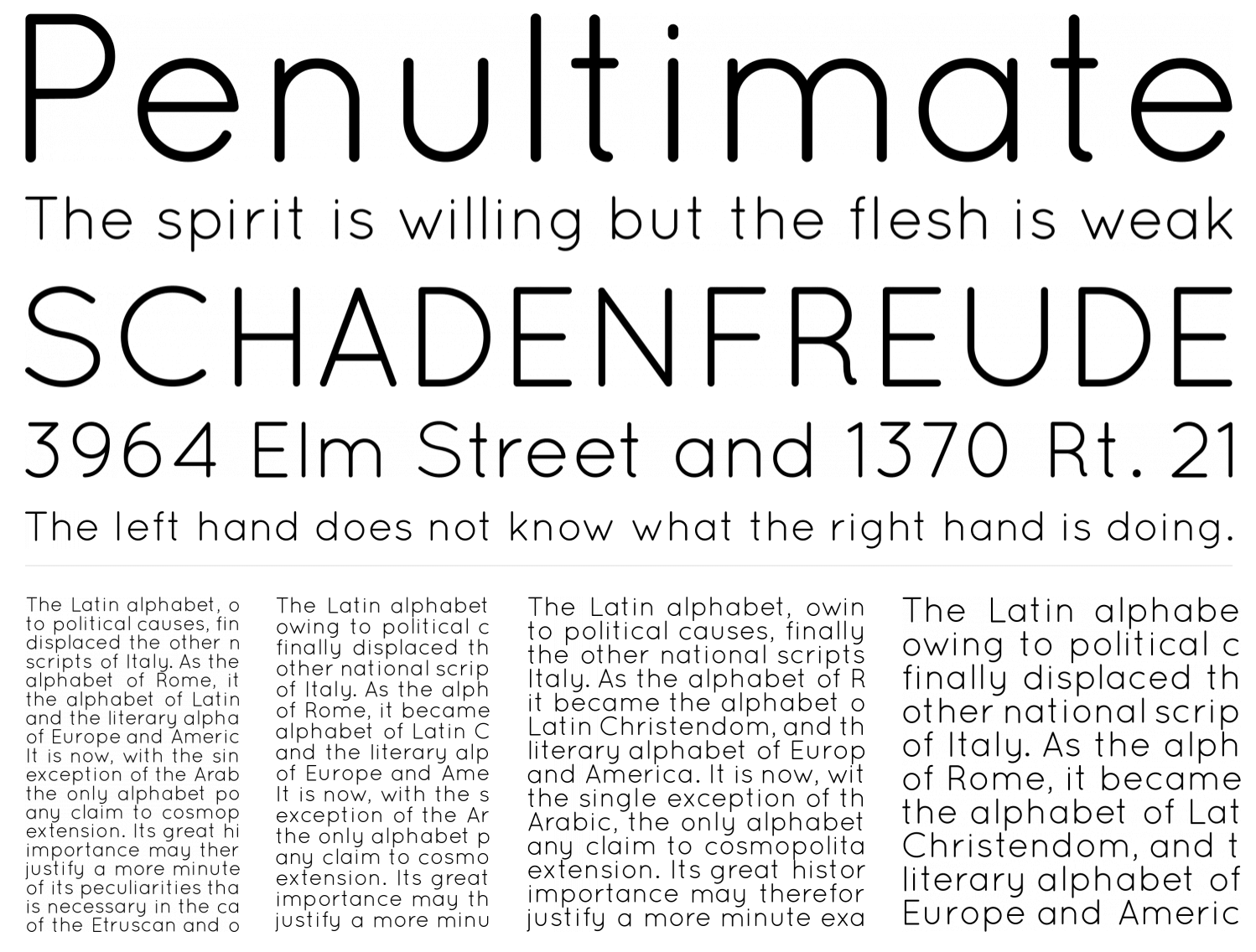 Need a free commercial font. Choose this sans serif typeface