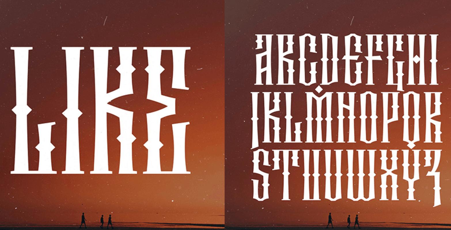 Stig free font