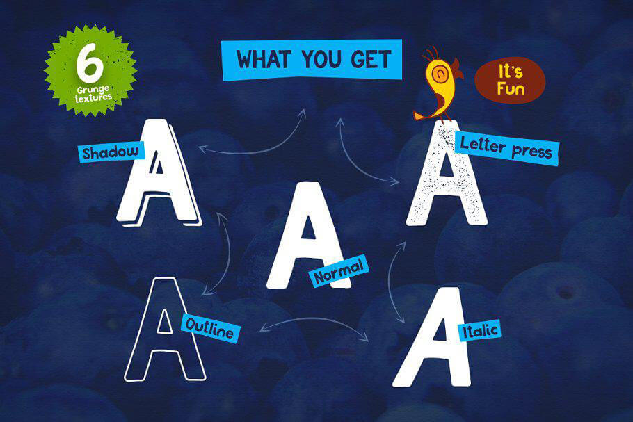fun playful fonts for PowerPoint design