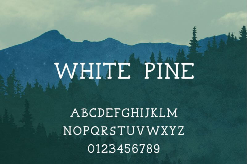 rustic PowerPoint handwriting font