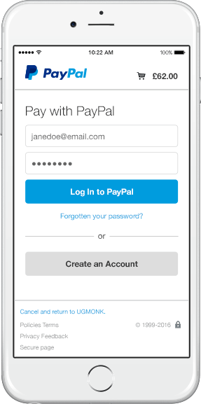 mobile responsive payments